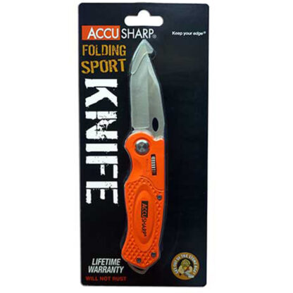AccuSharp Orange Sport Knife box
