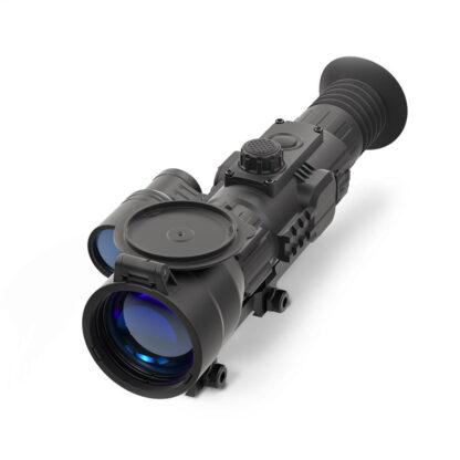 Yukon Sightline N475 med 6-24x57, er et kikkertsigte med følsomhed for mørke og kan bruges til jagt om natten. Det kan sættes på dit våben lige som en lyddæmper.