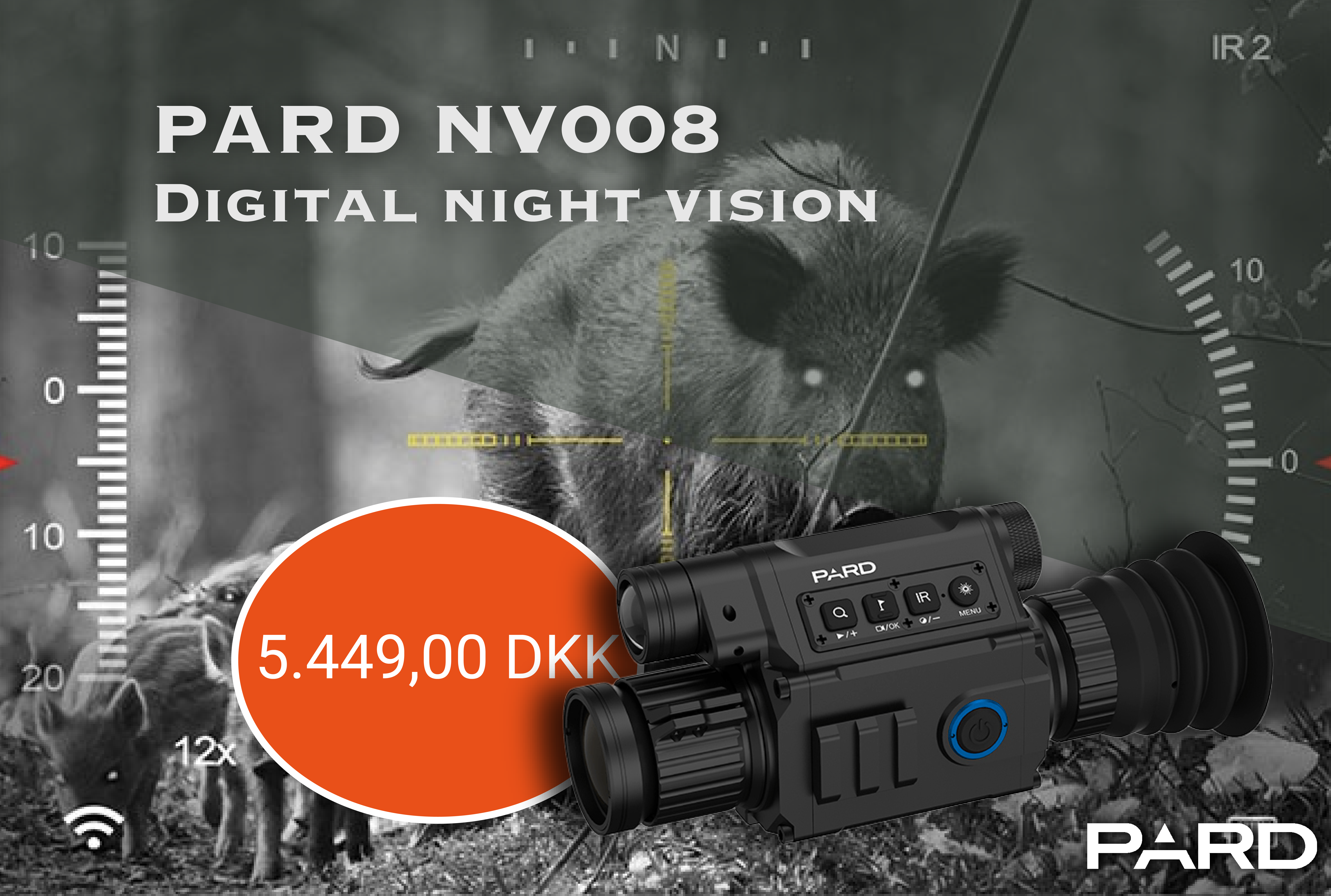 Pard NV008 Natkikkert